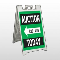 Auction 60 A Frame Sign