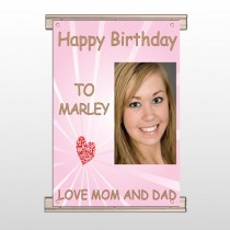 Happy Birthday Marley 10 Track Banner