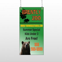 Bear Zoo 302 Window Sign