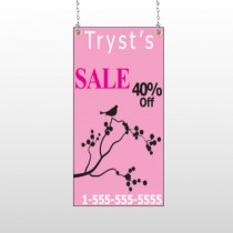 Bird Branch Sale 08 Window Sign