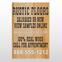 Wood Panel 248 Floor Decal