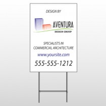 Architect 25 Wire Frame Sign