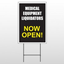 Medical Liquidation 331 Wire Frame Sign