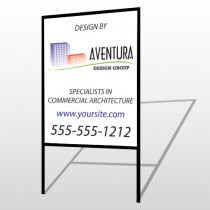 Architect 25 H-Frame Sign