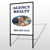 House Keys 249 H-Frame Sign