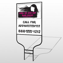 Hair 130 Round Rod Sign
