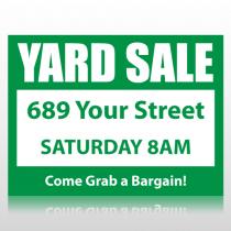 Yard Sale Sign Panel