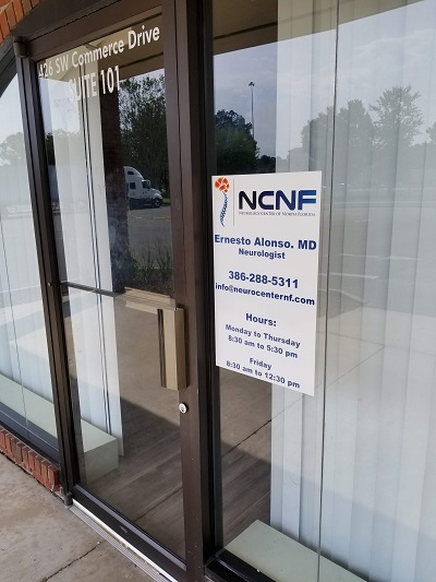 Business Window Decal