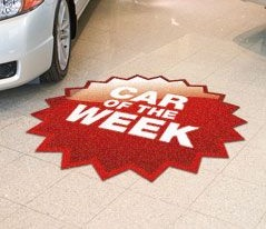 Car Sale Floor Decal