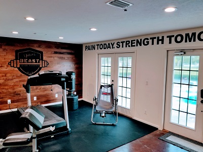 Gym Wall Lettering